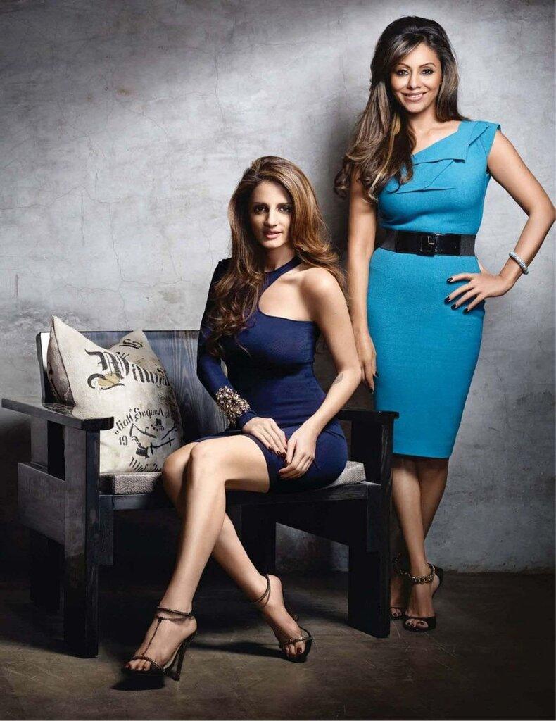 Gauri & Susanna - Vogue Magazine - april 2012