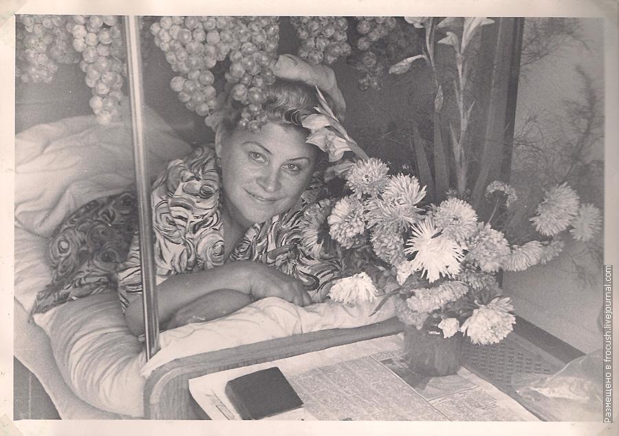 перевозка винограда в каюте теплохода 1965 год