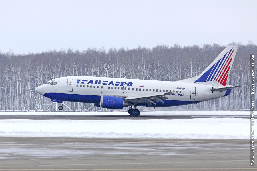 Boeing 737-524 (VP-BYP) «Трансаэро»