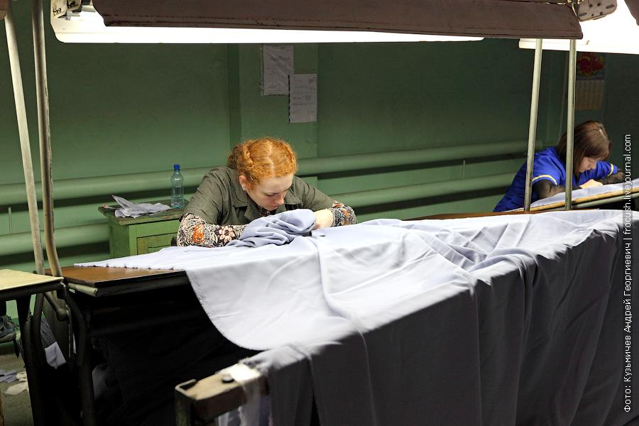 камвольное производство товаробраковочный цех