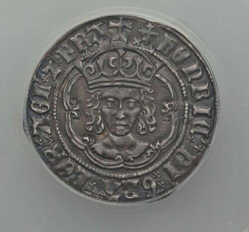 Henry VII (1485-1509) Groat ND