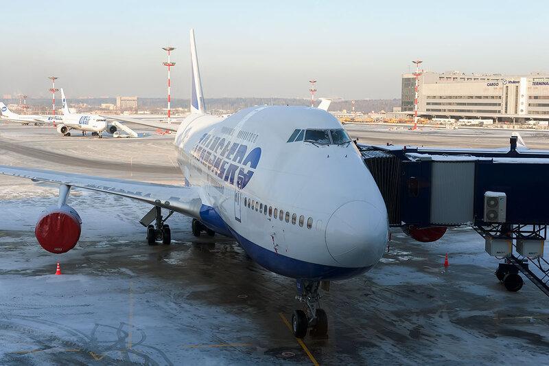 Boeing 747-412 (EI-XLK) Трансаэро DSC5978