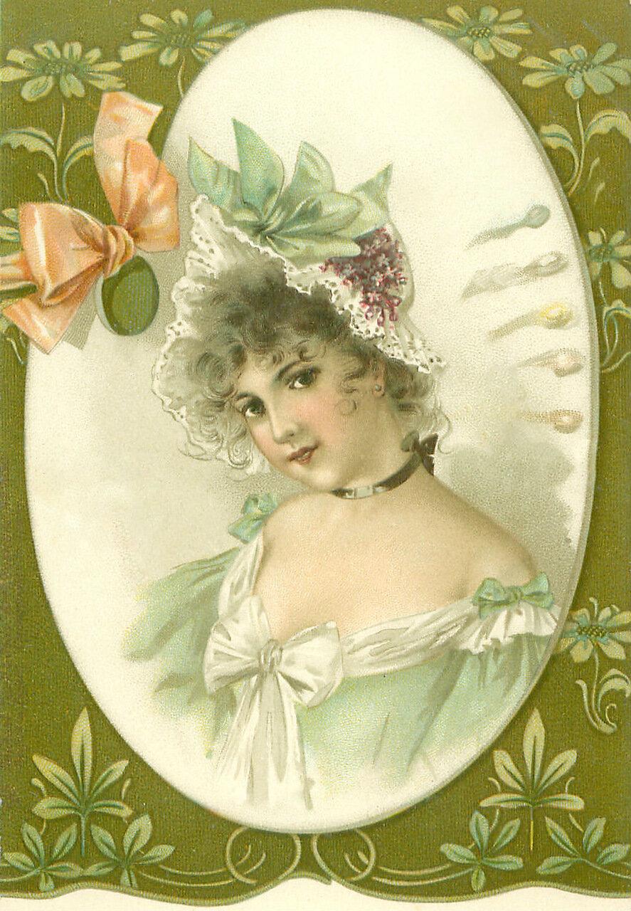 Открытки пуговиц, декупаж старинных открыток