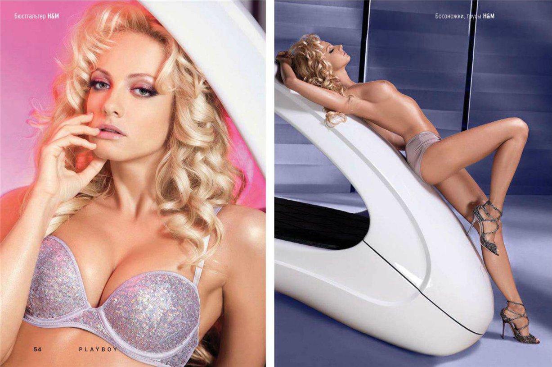 Сериал Деффчонки / голая Полина Максимова в Playboy Россия, январь 2013