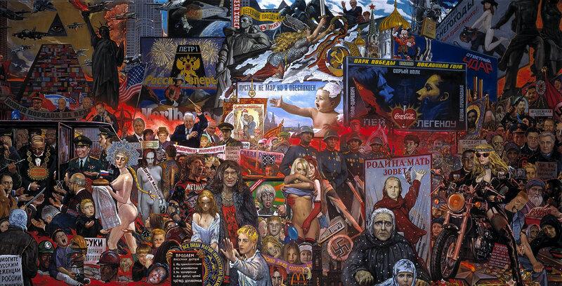 Картинки по запросу История России на картинах Ильи Глазунова