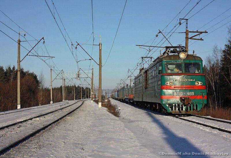 Электровоз ВЛ10-469