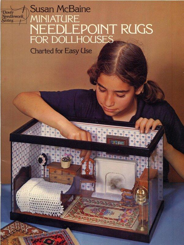 Ковры для миниатюрного домика.
