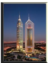 ОАЭ. Дубаи. Emirates Touers