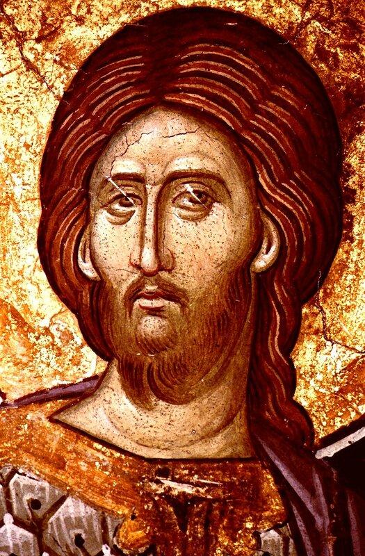 Святой Великомученик Никита. Фреска монастыря Высокие Дечаны, Косово, Сербия. Около 1350 года.