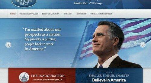 Сайт Митта Ромни празднует победу