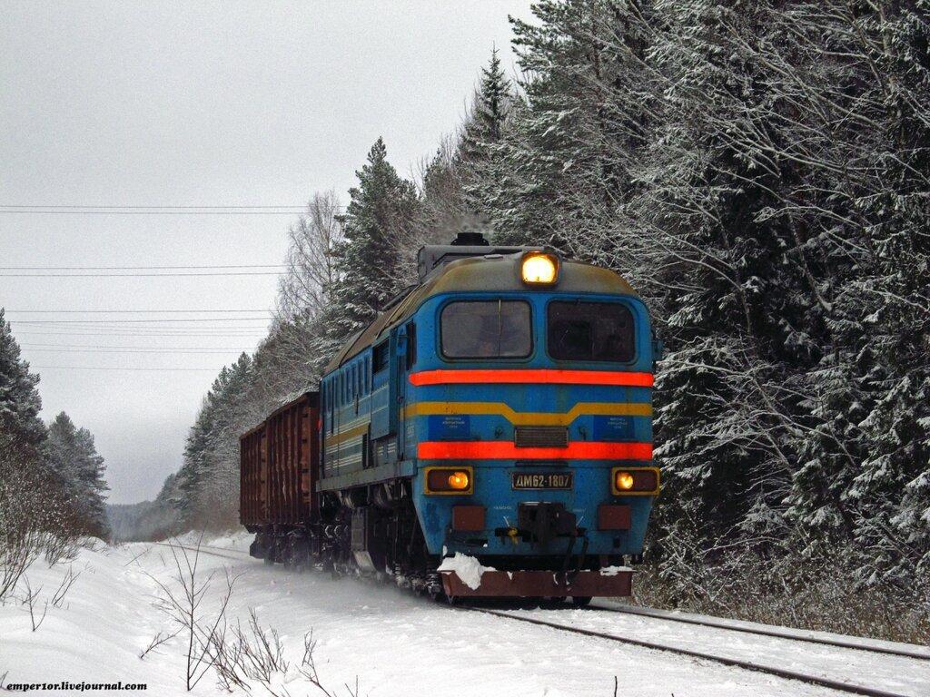 Возвращение грузовых поездов на линию Сонково-Савелово-Дмитров. Январь 2013 года. 0_a11f0_43dd1eec_XXL