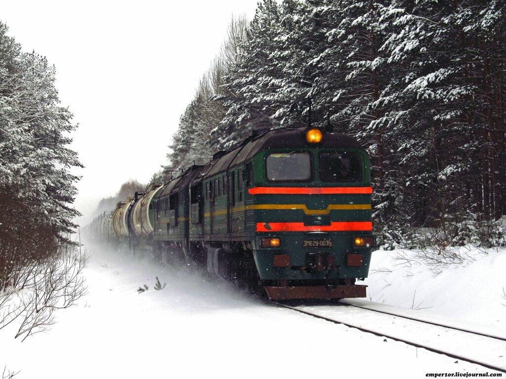 Возвращение грузовых поездов на линию Сонково-Савелово-Дмитров. Январь 2013 года. 0_a1857_d84d26b3_XXL