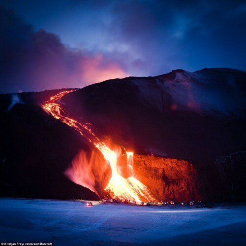 Острые ощущения у подножия вулкана