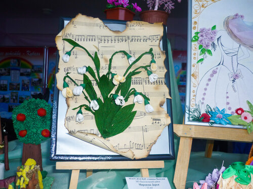Фотоотчёт с выставки детских работ 6.04.2013
