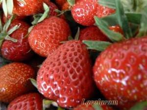Клубника для фруктового кефира
