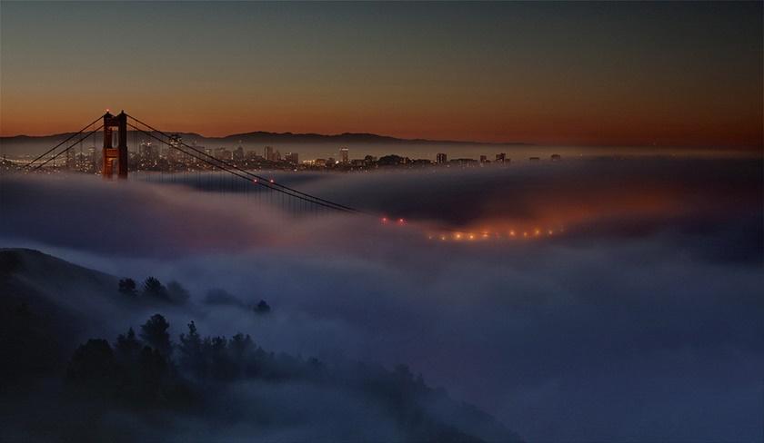 Красивые фотографии тумана в Сан Франциско, США 0 142266 d45a5373 orig