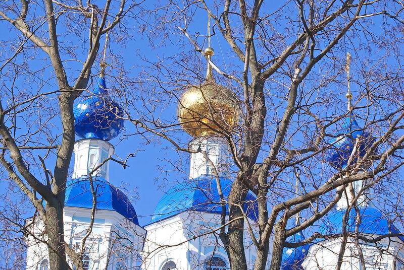 Небесная синь куполов!!!!!