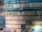 Коробка передач ZF 16S181 для DAF XF так же 151 181 221