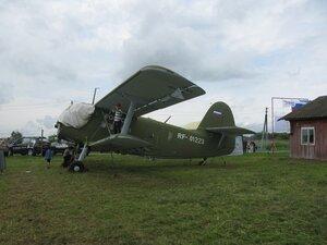 Самолёт Ан-2 на ремонте