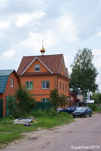 Храм 21 века в Павловском Посаде