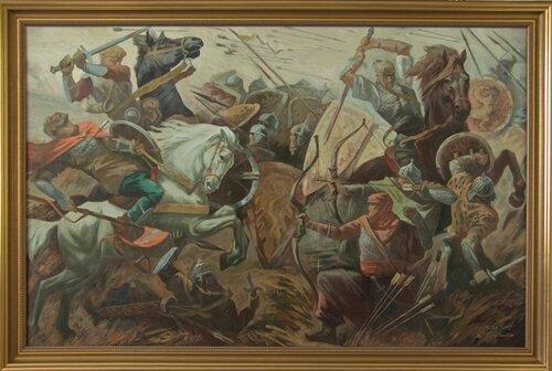 плагиат картины битва дмитрием сергиенко