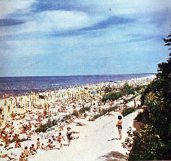 Юрмала, пляж времён ЛССР.