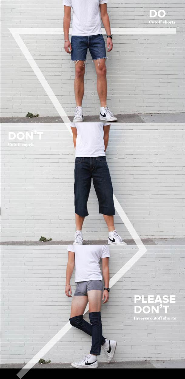The Dos, the Don'ts and Please Don'ts of Men's Fashion