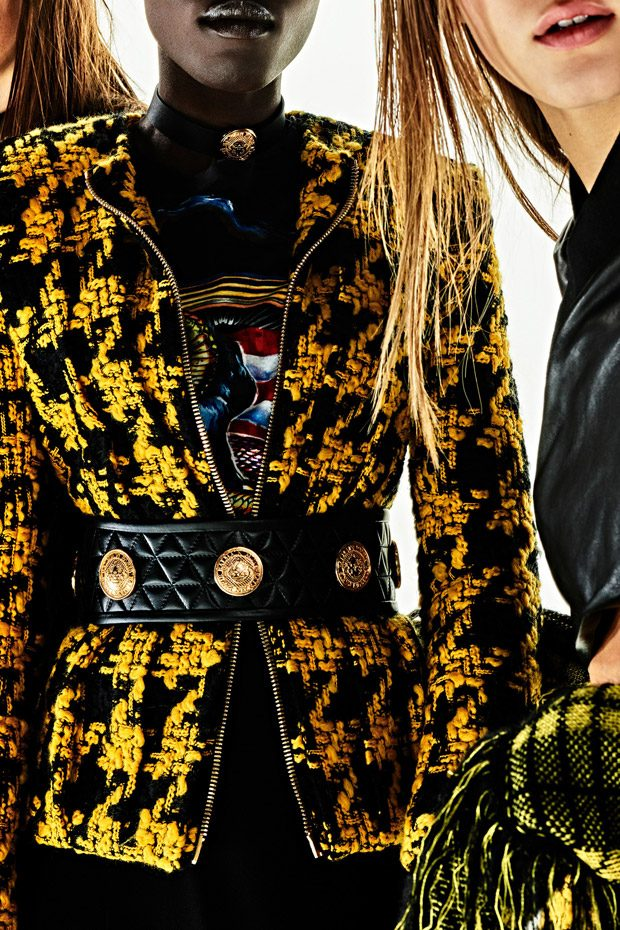 Balmain Pre-Fall 2017 Womenswear Collection