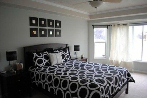 Интерьер спальни для мужчин