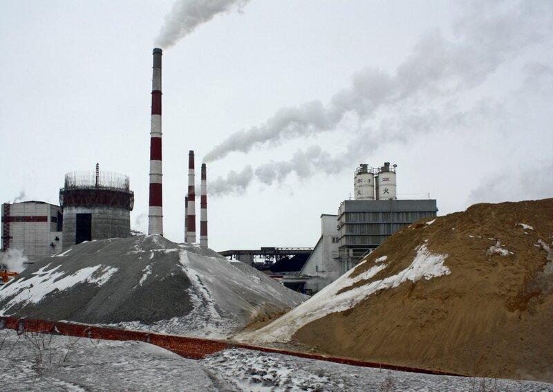 На строительстве Троицкой ГРЭС