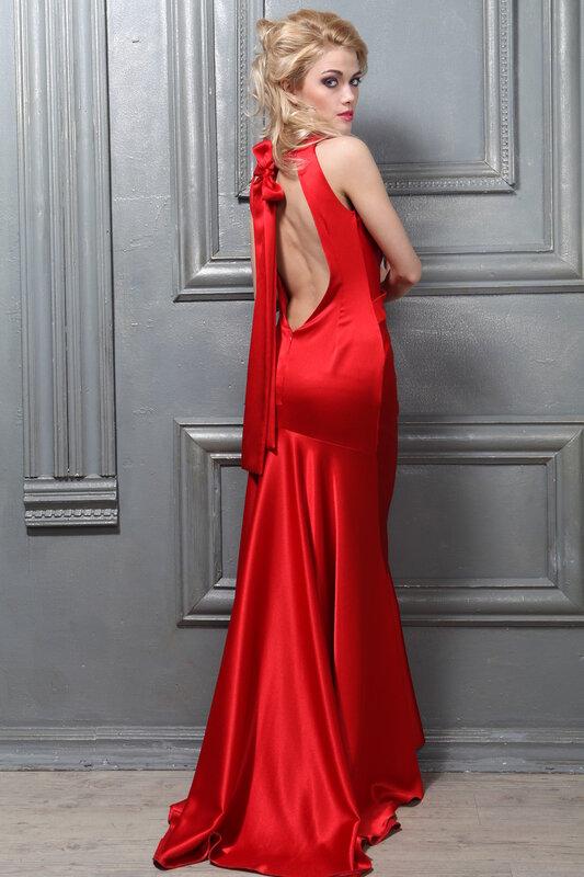 Платья в пол 2013 фото