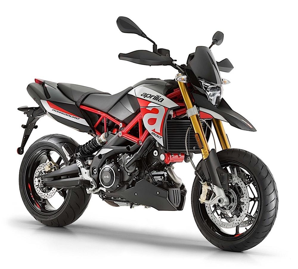 Новый мотоцикл Aprilia Dorsoduro 900 2018