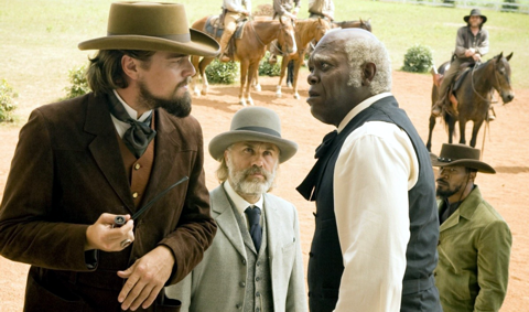 Джанго освобожденный | Django Unchained; ДиКаприо, Вальц, Джексон, Фокс