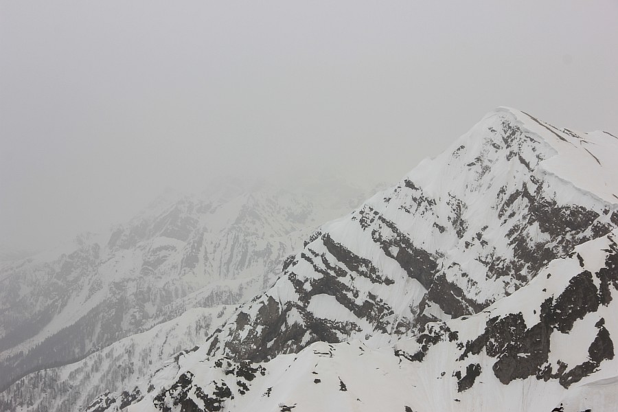 Роза Хутор. Горы