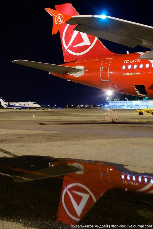 Авиакомпания Atlasjet Airlines Атласджет Эйрлайнз Аэропорт