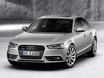 Новая Audi A4 четвертого поколения