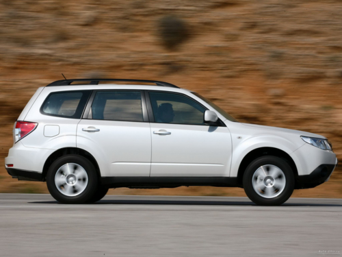 Subaru Forester: специально для России