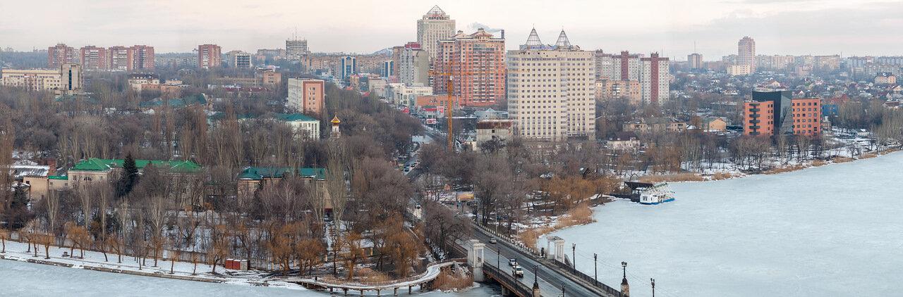 река Кальмиус, Калининский район, Донецк