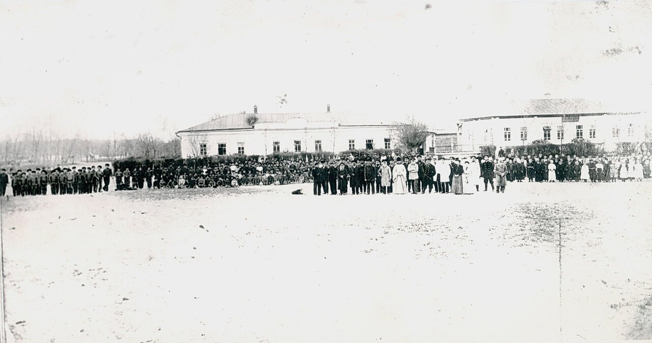Пишпек. Праздник Древонасаждения. 1912.