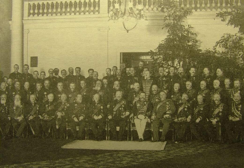 Сенаторы правительствующего сената Российской империи, групповая фотография 1914 года.