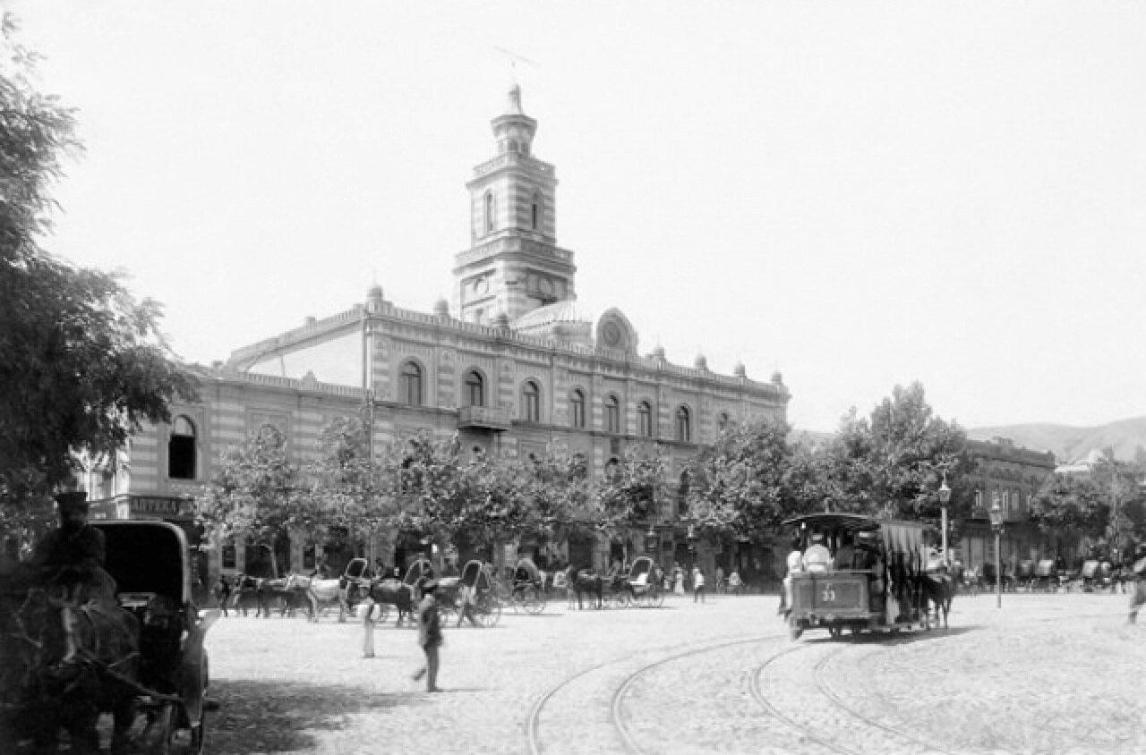 Тифлис. Эриванская площадь, 1885 г.