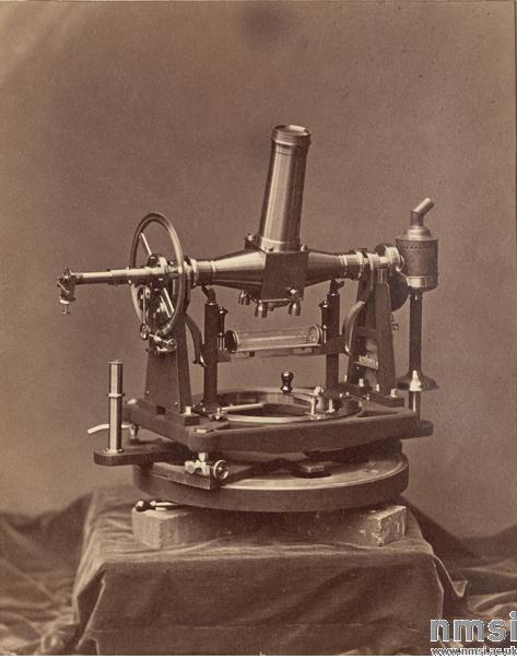 Пассажный инструмент в Пулковской обсерватории , 1876 г.