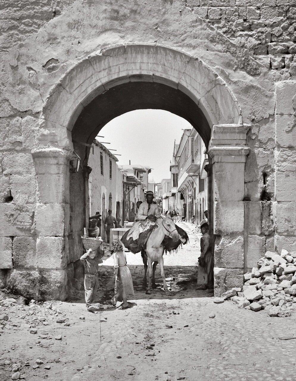 Баб Шарки («Восточные ворота»). Дамаск, Сирия. 1900-1920 гг.