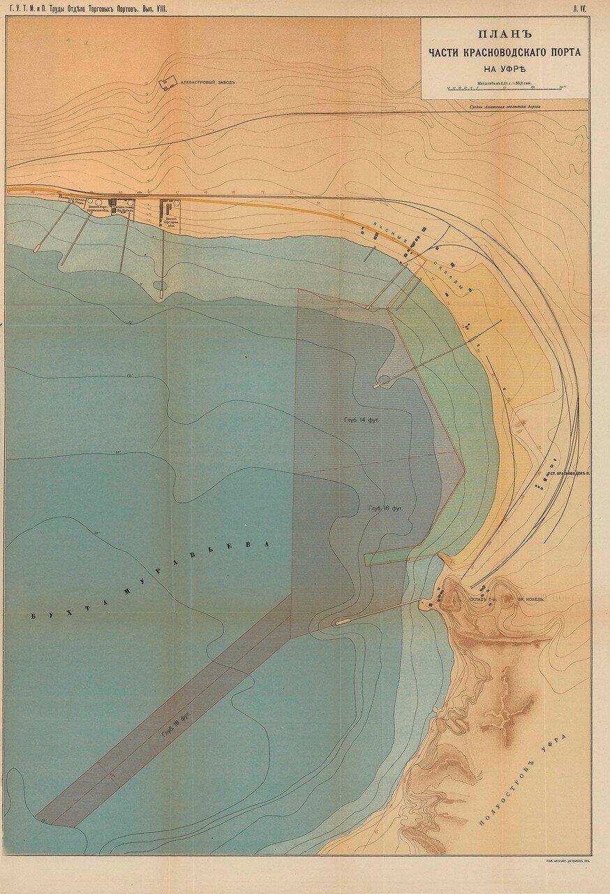 07. План части Красноводского порта на Уфре