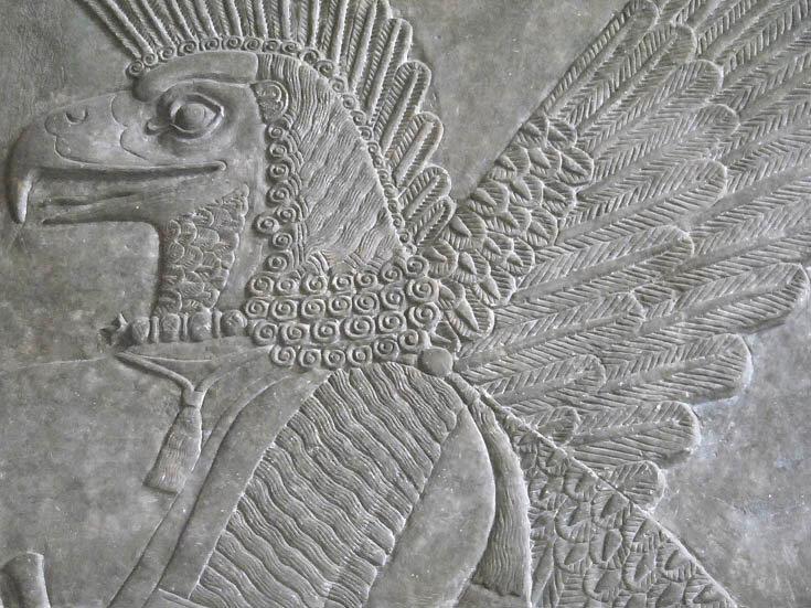 Ассирийсие рельефы
