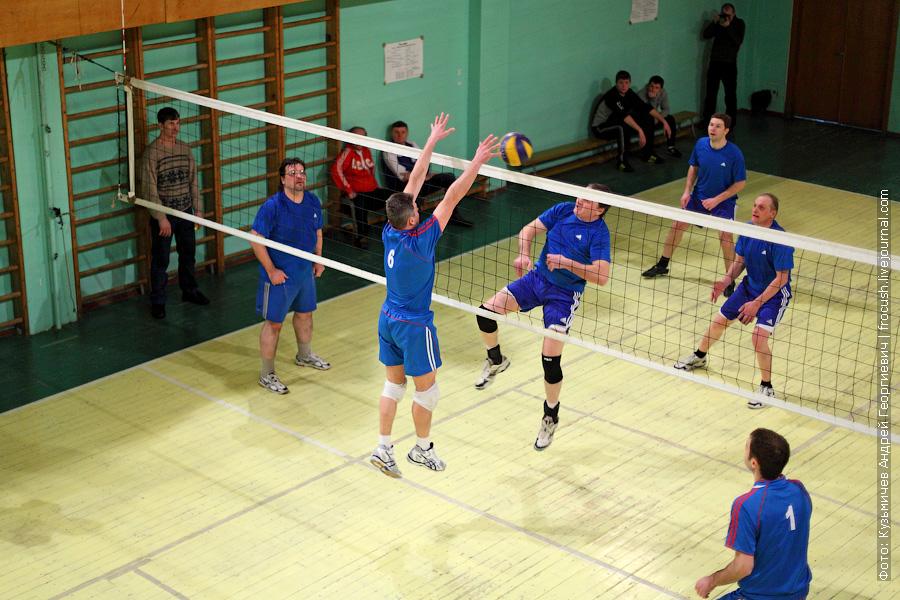 Команда «Порт Кимры» и «Пассажирский порт» волейбол
