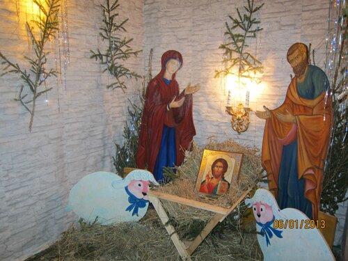 Устройство Рождественнского ВЕРТЕПА