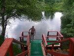 Озерко для моржевания после горячих ванн в Озерках..JPG