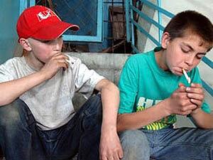 Российских школьников протестируют на курение
