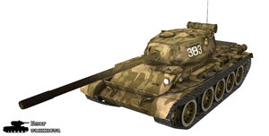 Шкурка для Т-44